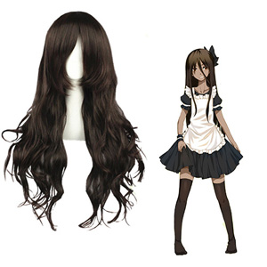 NO.6 Inukashi Dark Brown Cosplay Wig