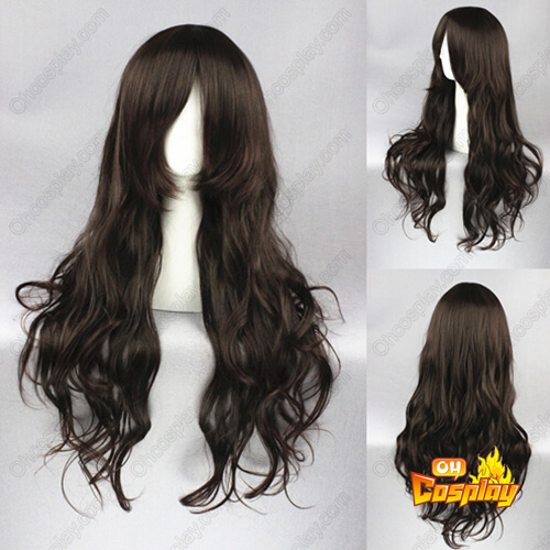Fairy Tail Cana Alberona Dark Brown Cosplay Wig