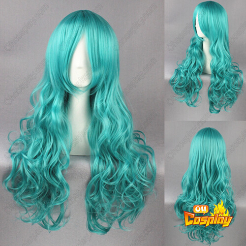 Sailor Moon Neptune Light Green Cosplay Wig