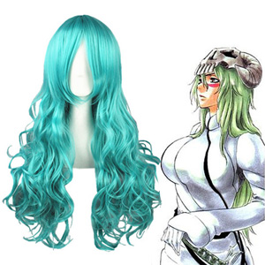 Bleach Neliel Tu Oderschvank Light Green Cosplay Wigs