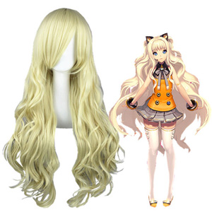 Vocaloid 3 Seeu Bleichgold Faschings Cosplay Perücken
