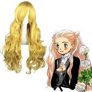 Honey&Clover Hagumi Hanamoto Golden Cosplay Wig