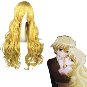 Shakugan No Shana Tiriel Golden Fashion Cosplay Wigs