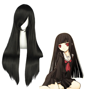 HellGirl Enma Ai Black Cosplay Wig