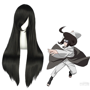 Naruto Hyūga Neji Black Fashion Cosplay Wigs
