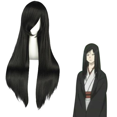 Natsume Yuujinchou monster 검은 코스프레 가발
