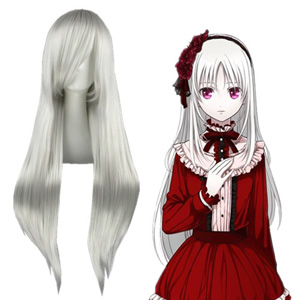 K Kushina Anna Silvery White Fashion Cosplay Wigs