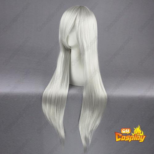 파이널 판타지 Sephiroth 은y 화이트 코스프레 가발