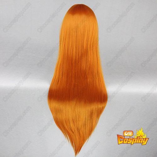 신세기 에반게리온 Soryu Asuka Langley 주황색 코스프레 가발