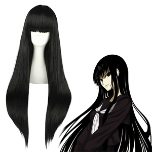 Nura: Rise of the Yokai Clan Hagoromo Gitsune Black Cosplay Wig