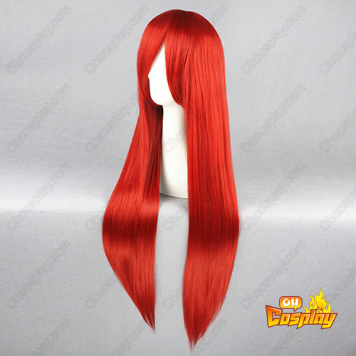 TouHou Project Kaenbyou Rin 빨간 코스프레 가발
