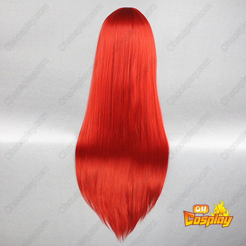 Shakugan No Shana 80cm Shana 빨간 코스프레 가발