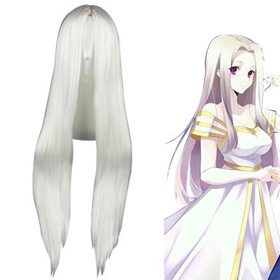 Fate/Zero Night Irisviel von Einzbern Bianco Parrucche Cosplay