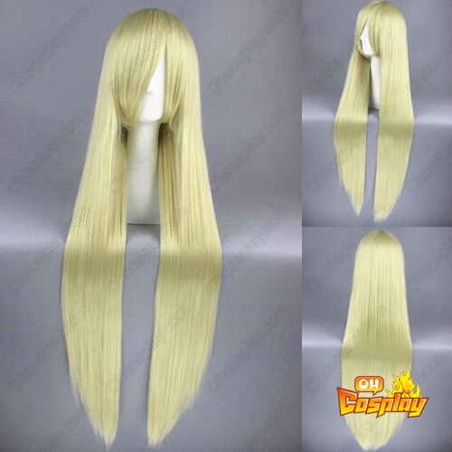 Umineko: When They Cry Chiesters Licht Blonde Cosplay Pruiken