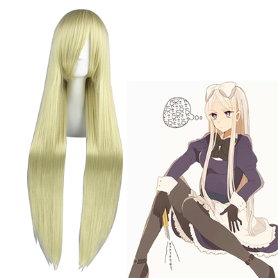 Axis Powers Hetalia Natalia Arlovskaya Light Blonde Cosplay Wigs