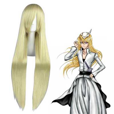 Bleach Ilforte·Grantz Licht Blonde Cosplay Pruiken