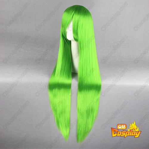 Code Geass C.C. Verde Perucas Cosplay
