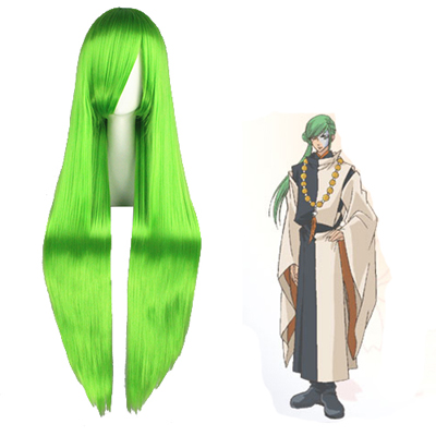 Haruka: Beyond the Stream of Time Abeno Yasuaki Green Cosplay Wigs