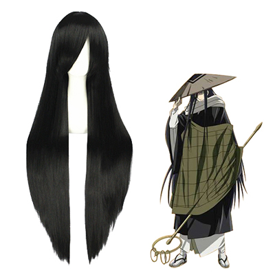 Nura: Rise of the Yokai Clan Kurotabou Preto Perucas Cosplay