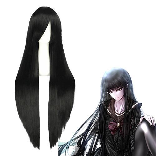 Nura: 누라리횬의 손자 Yamabuki Otome 검은 코스프레 가발