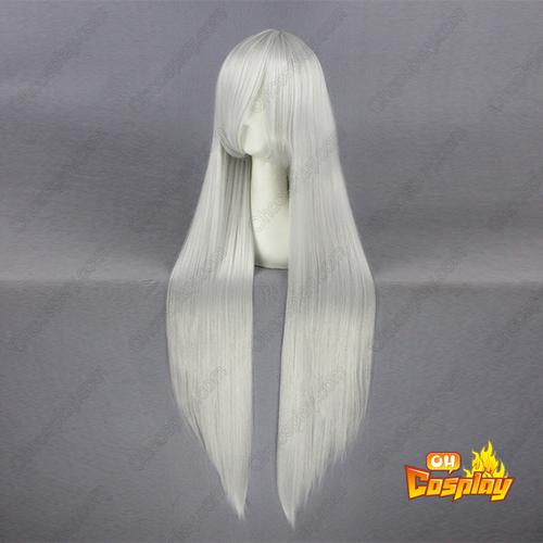 Rozen Maiden Suigintou Silbrige Weiß Cosplay Perücken