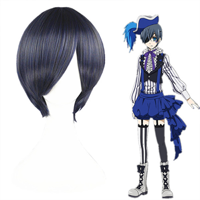 Black Butler Ciel Phantomhive Fashion Cosplay Wigs
