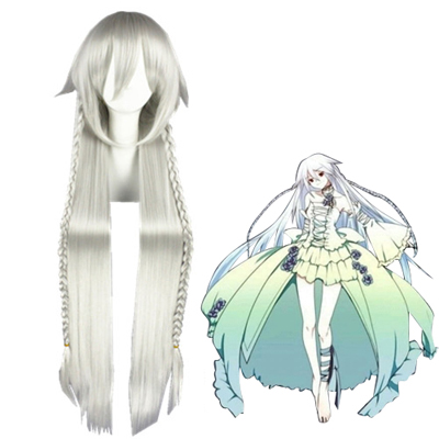 Pandora Hearts Alyss Silvery White Cosplay Wig