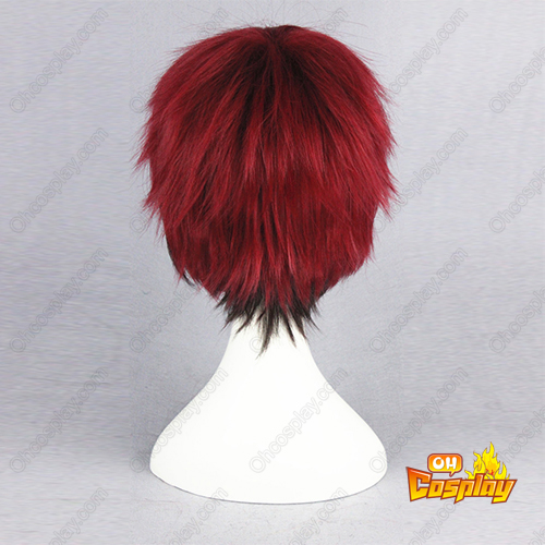 Kuroko S Basketball Kagami Taiga Red And Black Cosplay Wig