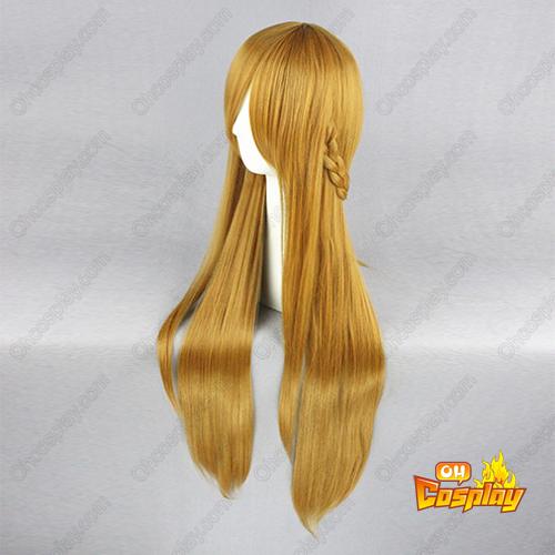 소드 아트 온라인 Asuna 어두운 갈색 코스프레 가발