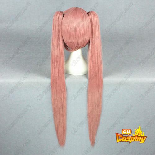 Vocaloid Megurine Luka 100cm Rosa Cosplay Perücken