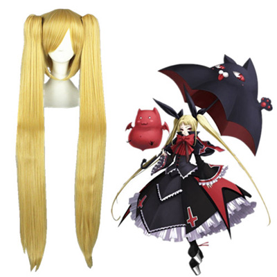 BlazBlue Rachel Goldenee 100cm Faschings Cosplay Perücken