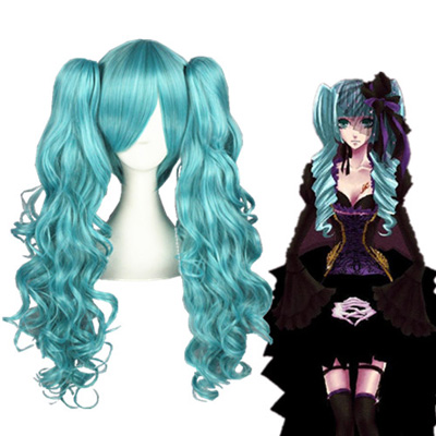 Vocaloid Hatsune Miku 65cm Perruques Carnaval Cosplay