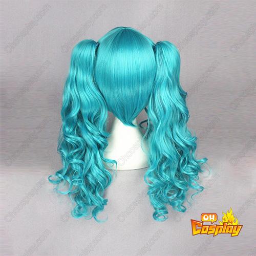 Vocaloid Hatsune Miku Blau 65cm Cosplay Perücken