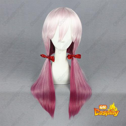 길티 크라운 Yuzuriha Inori 65cm 코스프레 가발