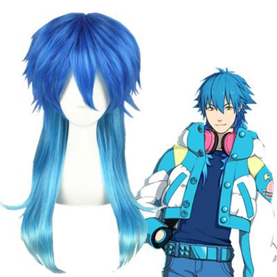 Dramatical Murder Seragaki Aoba Blue 60cm Cosplay Wigs