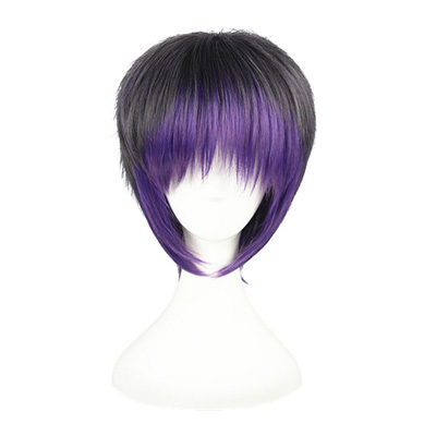 Japanese Harajuku Short Lolita Taro Purple 35cm Cosplay Wigs