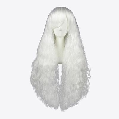 ロリータ 日本の原宿 甘い 90cm ホワイト コスプレウィッグ