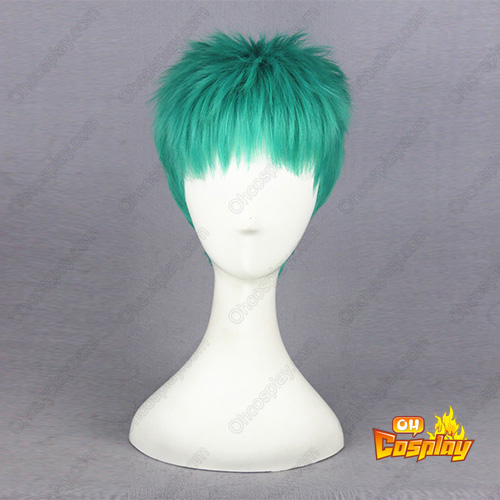 One Piece Roronoa Zoro Grass Groen Cosplay Pruiken