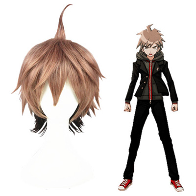 Danganronpa: Trigger Happy Havoc Naegi Makoto Faschings Cosplay Perücken
