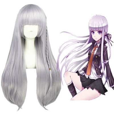 Danganronpa: Trigger Happy Havoc Kirigiri Kyouko Faschings Cosplay Perücken