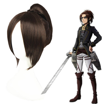 Attack on Titan Ymir Dark Brown Cosplay Wig