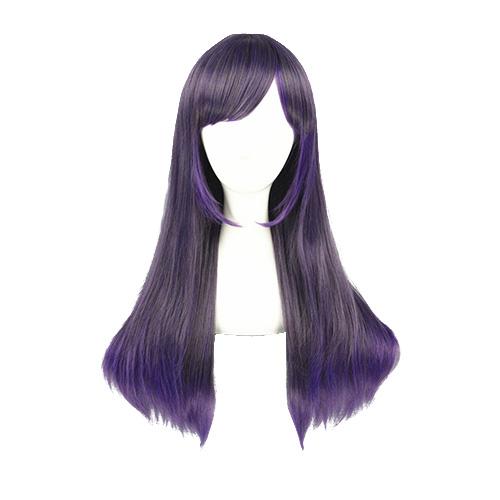 일본어 하라주쿠 매일 로리타 패션 보라색 코스프레 가발