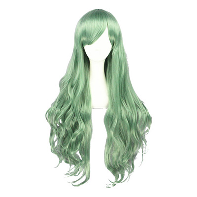 Japanese Harajuku Lolita Light Green Cosplay Wig