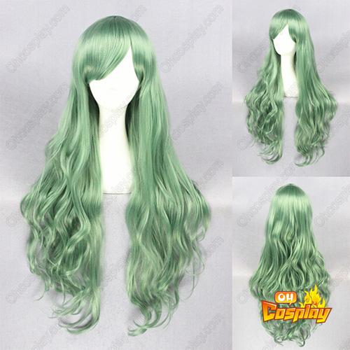 일본어 하라주쿠 로리타 패션 연한 초록색 코스프레 가발