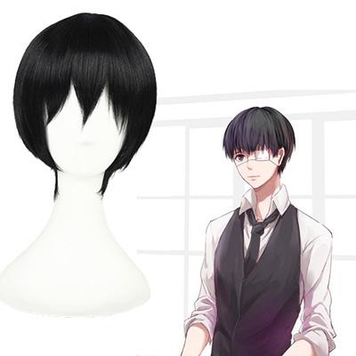 Tokyo Ghoul Ken Kaneki Black 30cm Cosplay wig