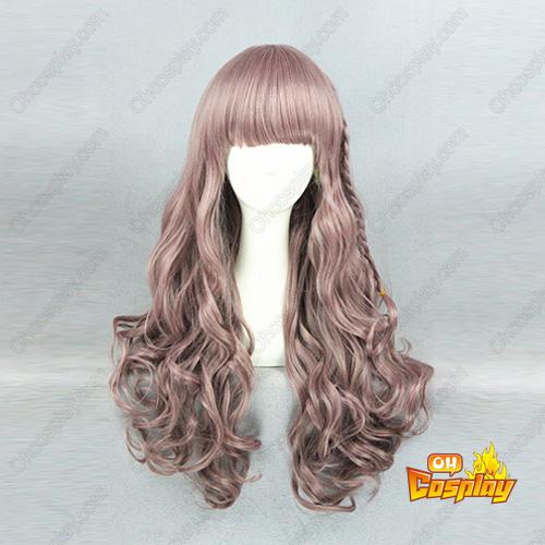 귀엽다 로리타 패션 매일 일본어 하라주쿠 65cm 코스프레 가발