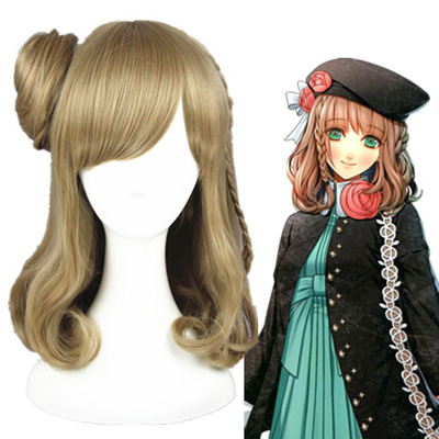 Amnesia Heroine Linen 40cm Perruques Carnaval Cosplay