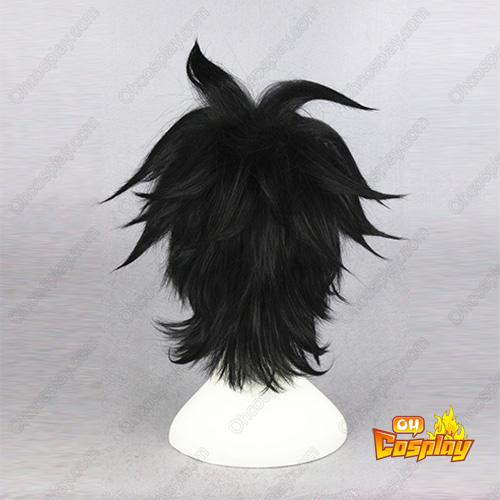 Black Butler Liu Tao Preto 35cm Perucas Cosplay