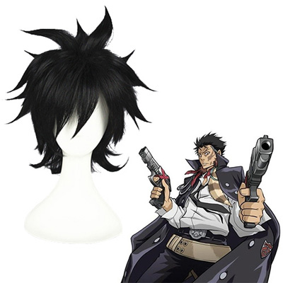 Katekyō Hitman Reborn! XANXUS Black Fashion Cosplay Wigs