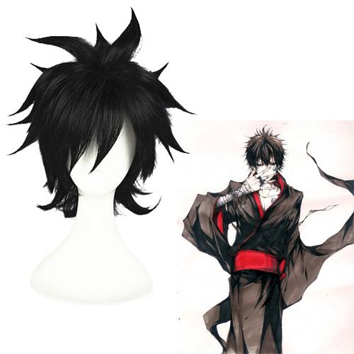 Katekyō Hitman Репетитор-киллер Реборн Hibari Kyoya Чёрный Косплей Парик
